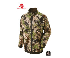 SHOOTERKING Digitex Softshell Wendejacke grün/braun